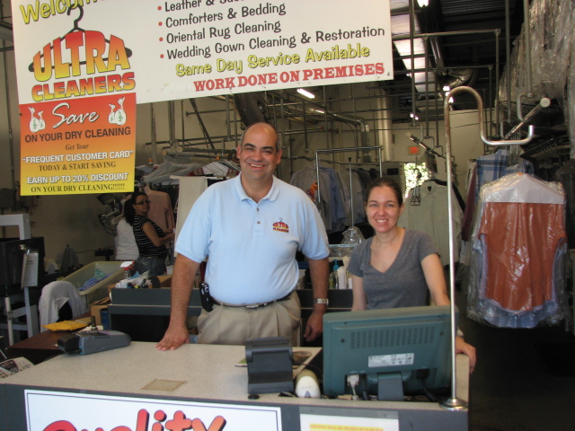 Bob Salerno, owner of Ultra Cleaners