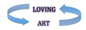 Photo 01_Loving Art title graphic